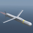 Missile launch animated 3D video with visual effects and advanced 3d rigging
