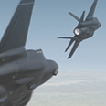 3D video of F-35 Lightning II for aerospace marketing for Farnborough